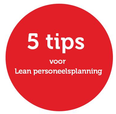 lean personeelsplanning 5 tips