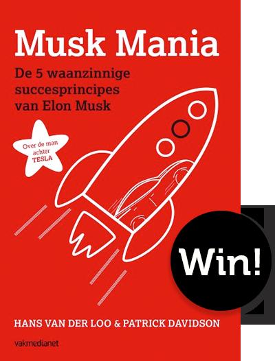 Win het boek Musk Mania
